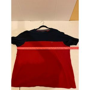Textured XL tommy hilfiger Red Polo